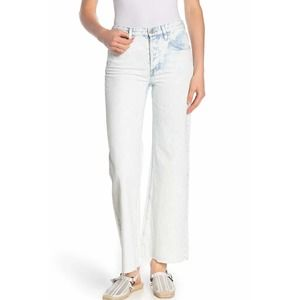 Free People Sz 30 High Rise Straight Flare Jeans